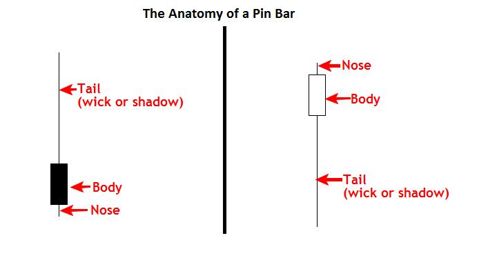 Pin bar là gì? Phương pháp giao dịch theo Pin Bar 2