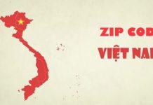 Zipcode Việt Nam 2019