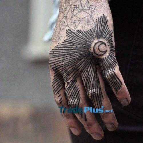 +39 mẫu Hình xăm bàn tay đẹp - Ý tưởng thiết kế hình xăm 12