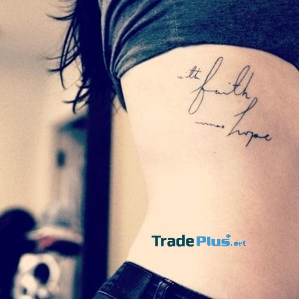 """""""With faith comes hope"""""""